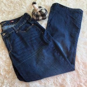 Arizona Curvy Boot Cut Jeans Size 20